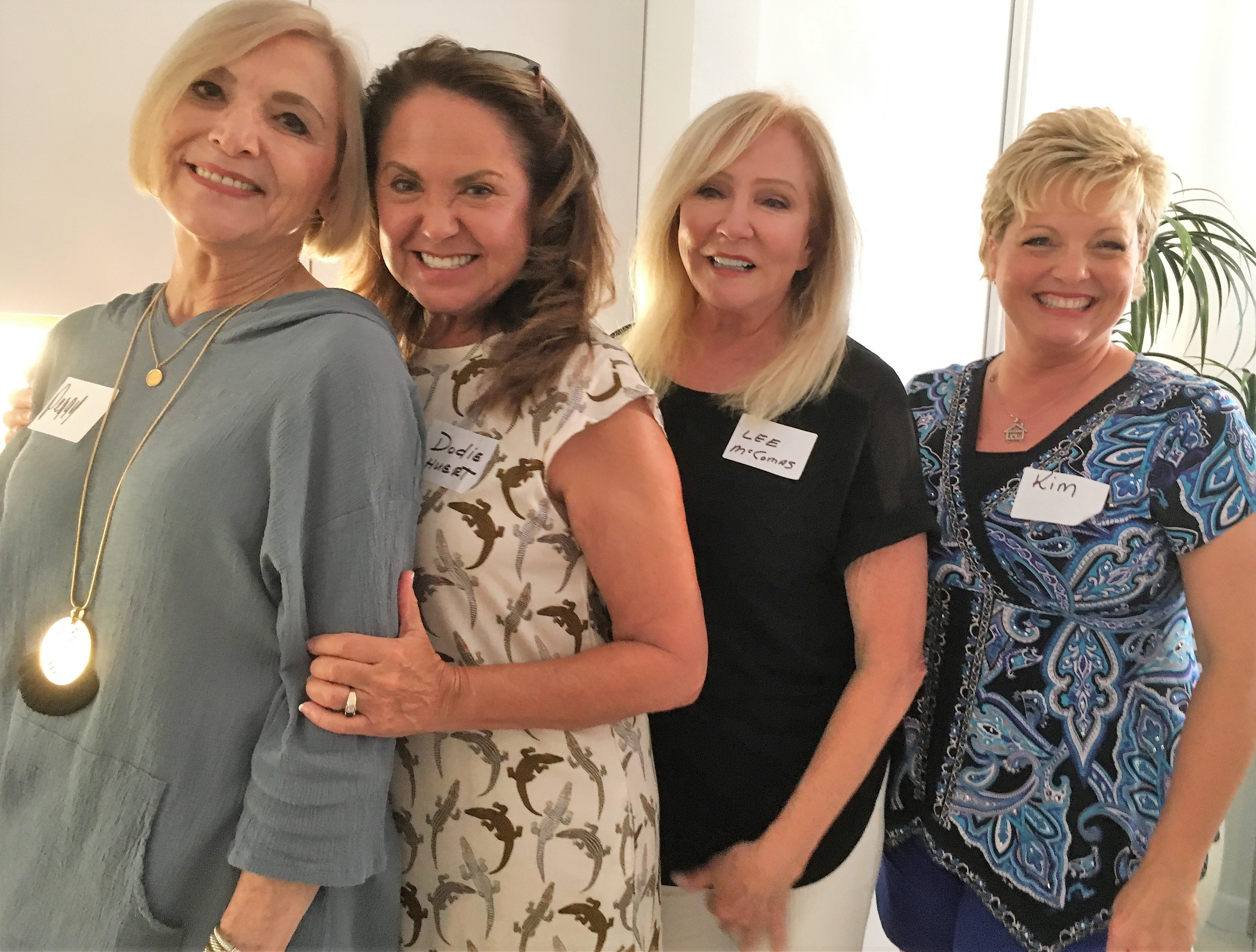 Peggy Fainelli, Dodie Shuert, Lee McComas and Kim Lege also enjoyed the September Mix and Mingle.
