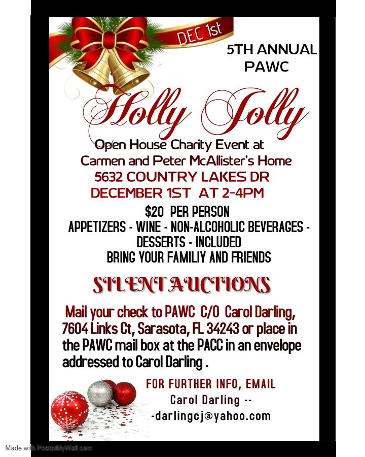 The 5th Annual Holly Jolly.